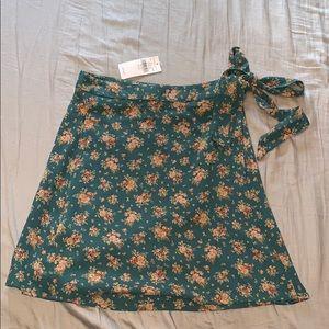 American eagle wrap skirt!